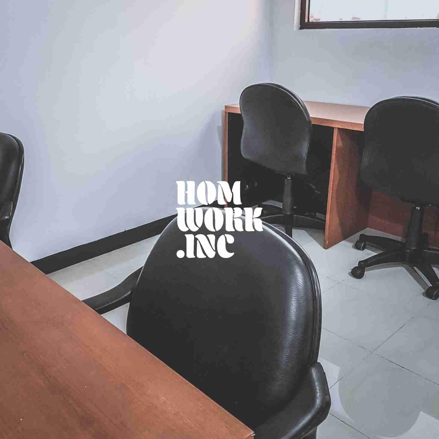 disewakan ruang kantor / working space (kapasitas 7 orang)