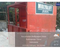Sewa Alat Bantu Proyek Lift Barang