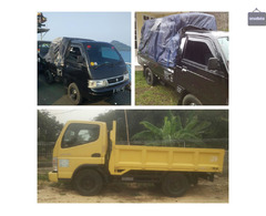 Rental / sewa truck engkel bak & pick up bak dlm & luar kota/provinsi/pulau