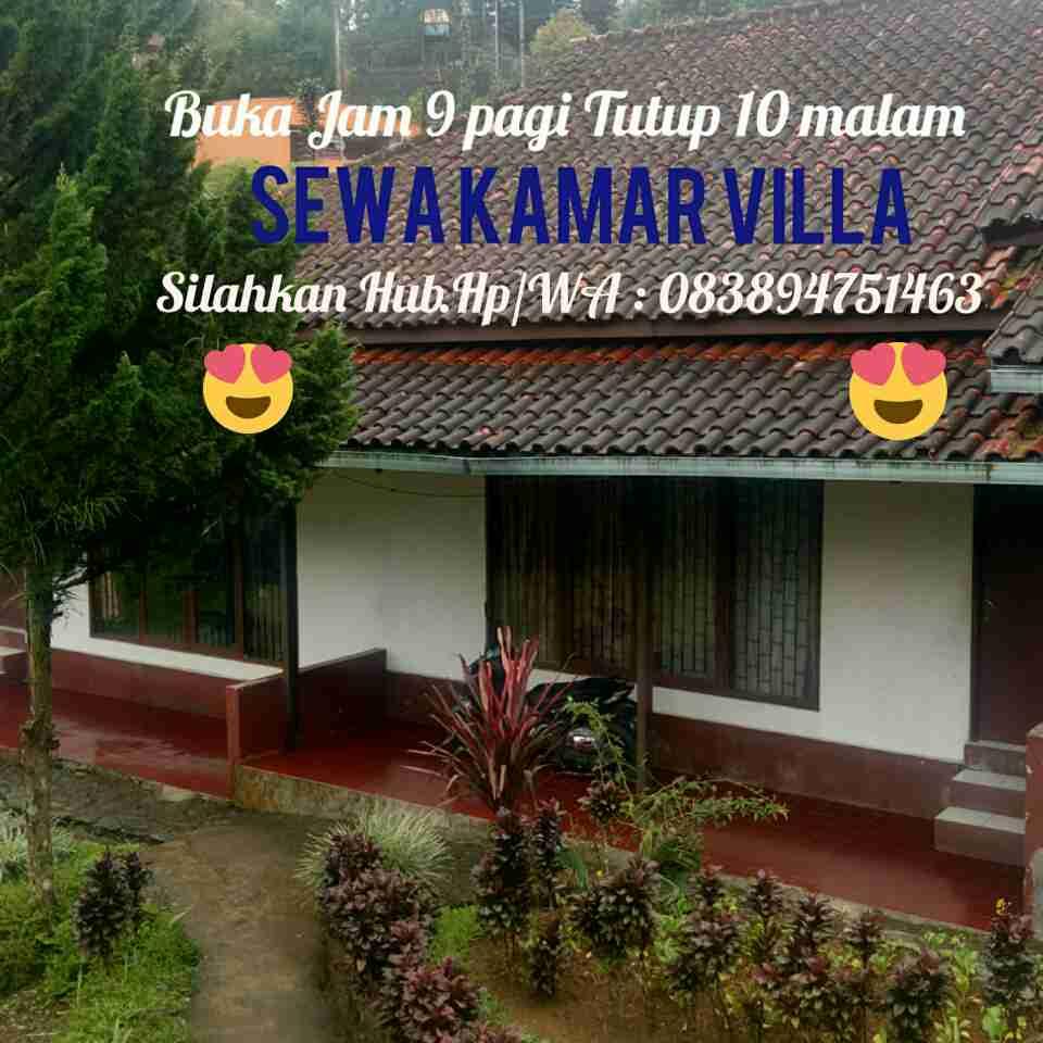 Sewa Kamar Villa Puncak  (Umum dan Bisa Bermember)