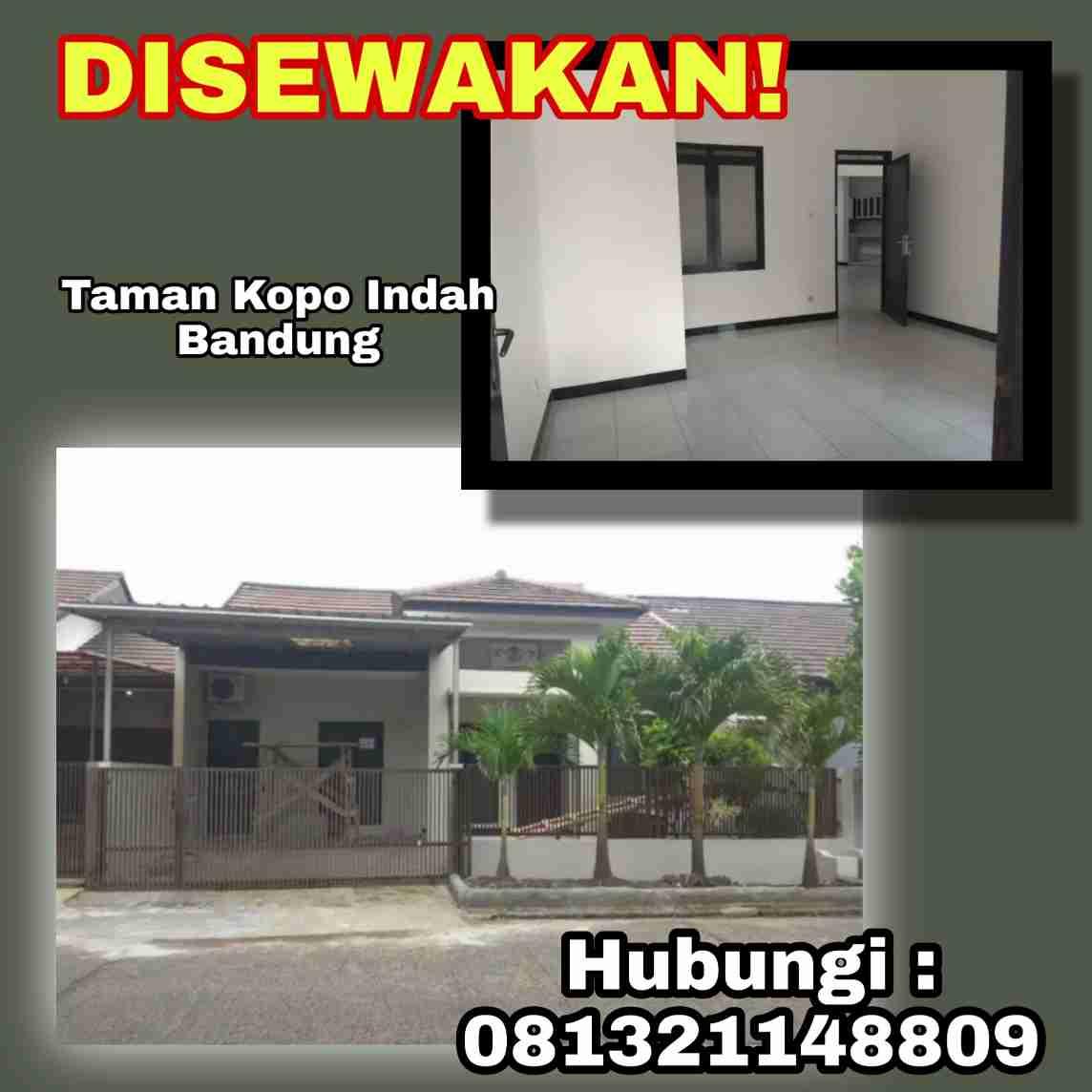 Disewakan Rumah Taman Kopo Indah Bandung Nyaman
