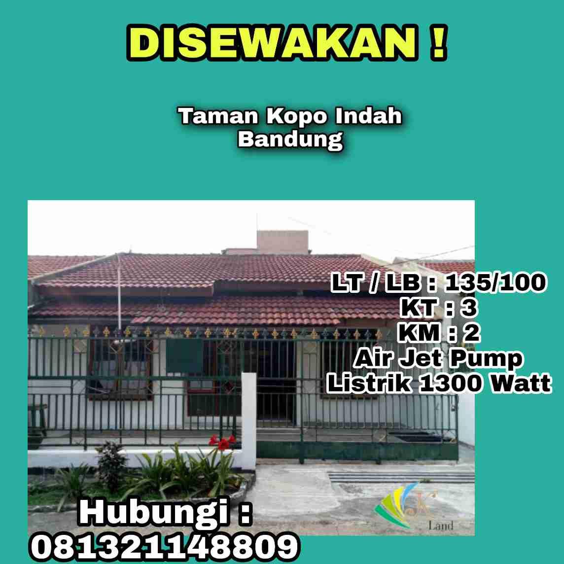 Hunian Aman Dan Nyaman Taman Kopo Indah Bandung