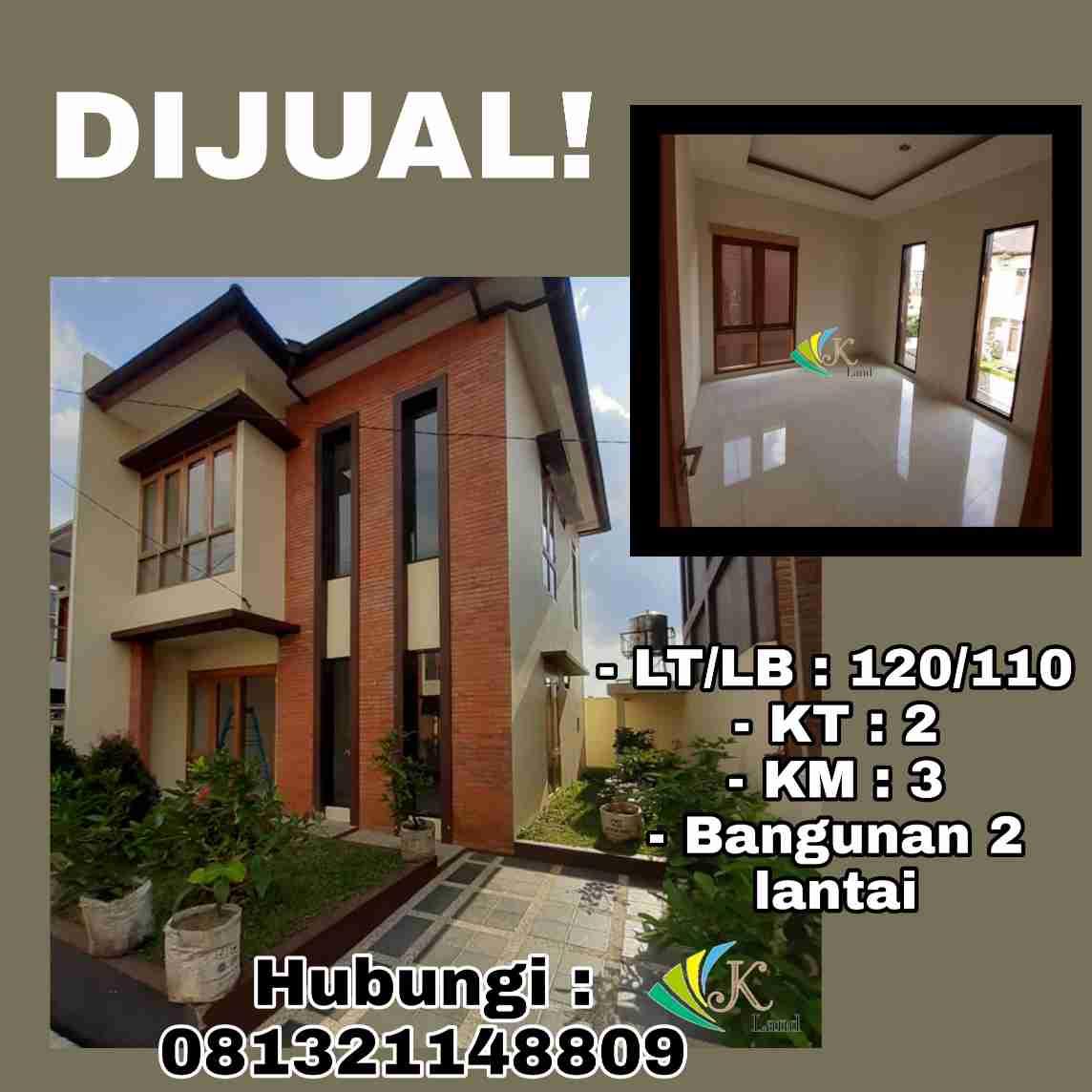 Dijual Rumah Nyaman Bandung