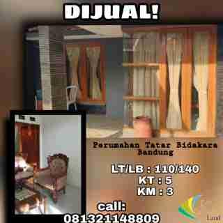 Dijual Perumahan Tatar Bidakara Bandung