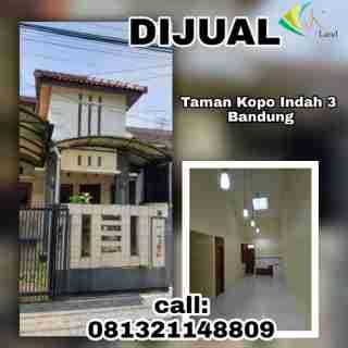 Dijual Rumah di Taman Kopo Indah 3 Bandung