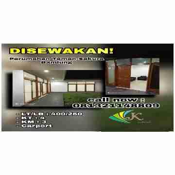"Disewakan Rumah ""Perumahan Taman Sakura"" Bandung"