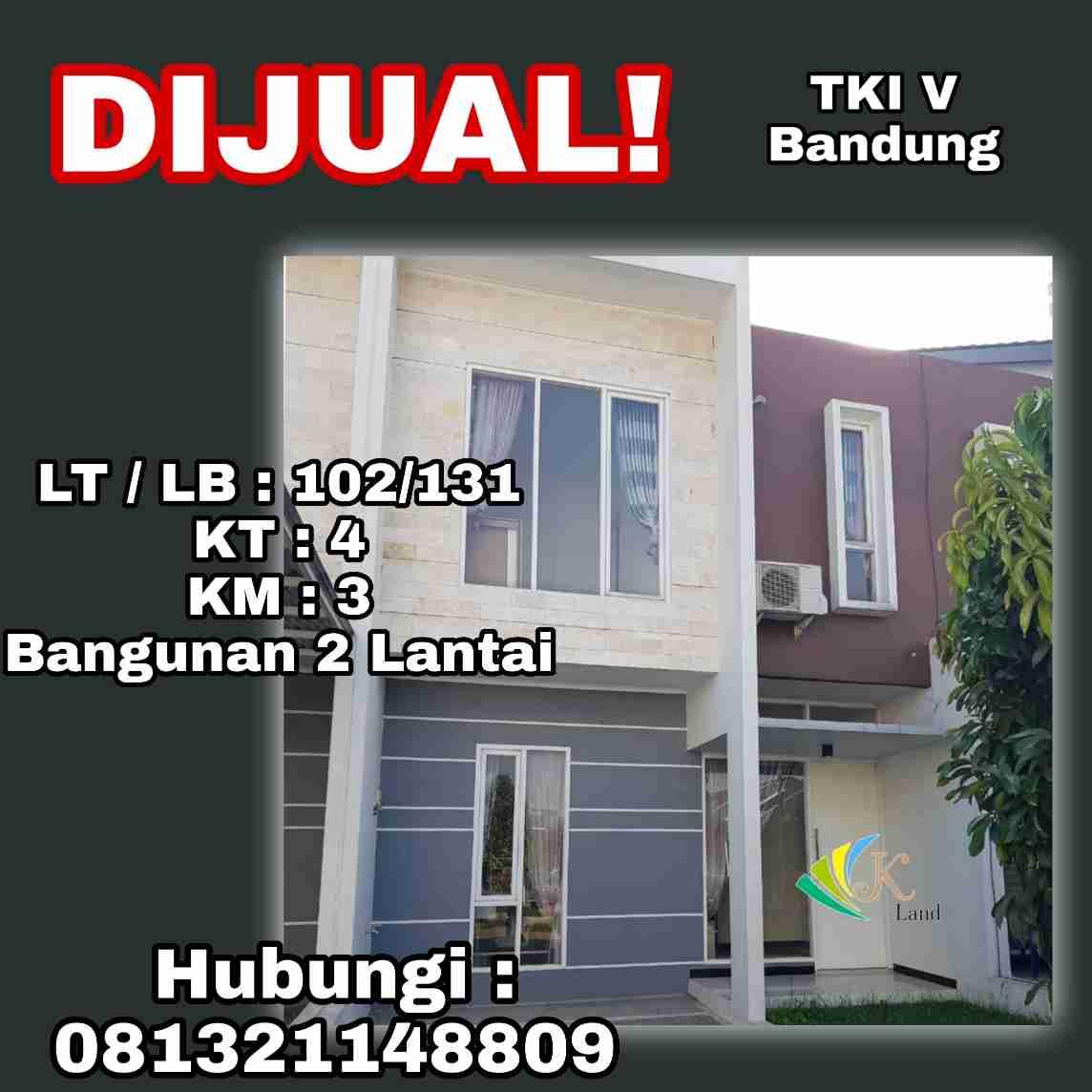 Dijual Rumah Taman Kopo Indah V Bandung
