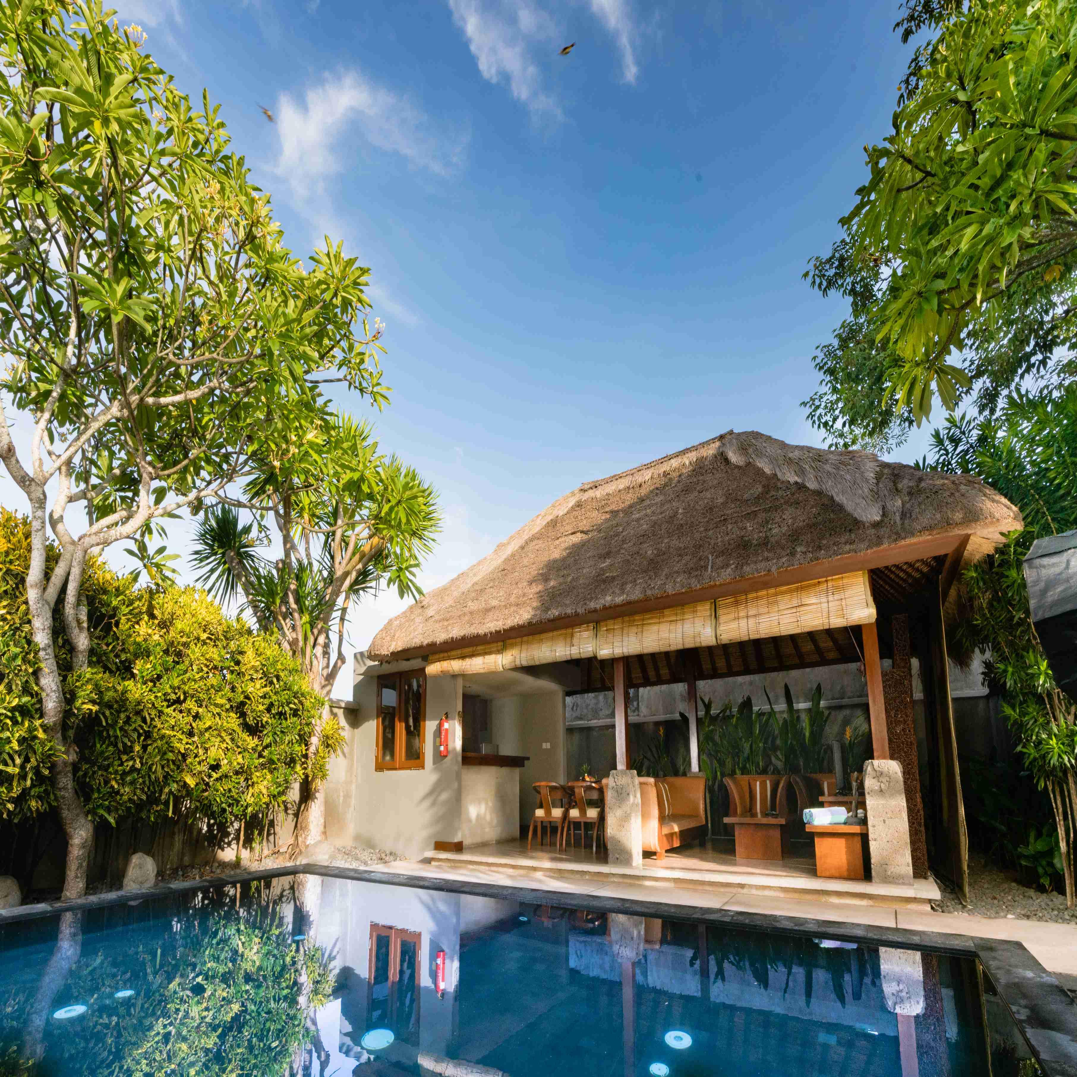 Sewa Villa Bulanan Dua Kamar Bumi Linggah Bali