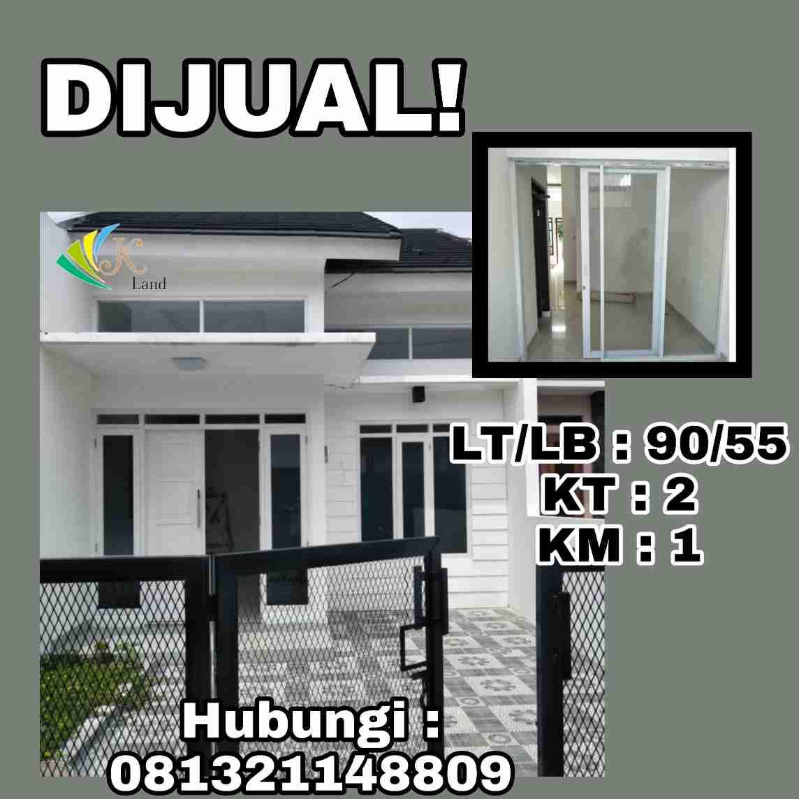 Dijual Rumah Baru Minimalis Di Bandung