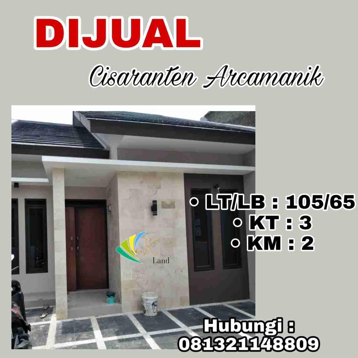 Dijual Rumah Cisaranten Arcamanik Bandung Nyaman dan Modern