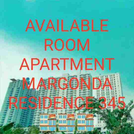 sewa room apartemen margonda resident 3,4,5