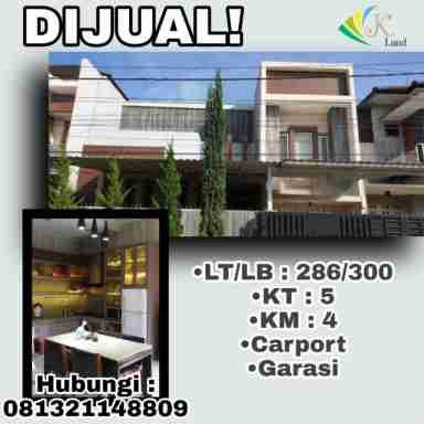 Dijual Rumah 2 Lantai TKI 3 Bandung