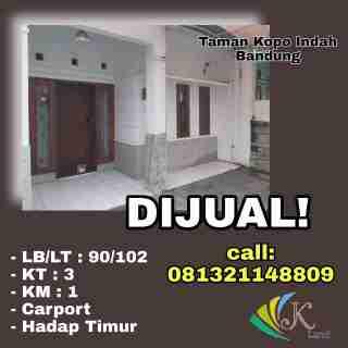 Hunian Di Taman Kopo Indah 3 Minimalis Bandung