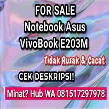 Di Jual VivoBook Asus 95% Bersih & Terawat