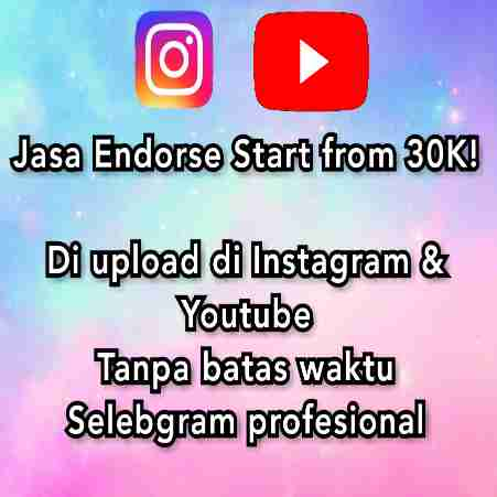 JASA ENDORSE PRODUK/TOKO/OLSHOP/HOTEL/RESTO/DLL TERMURAH SE- INDONESIA
