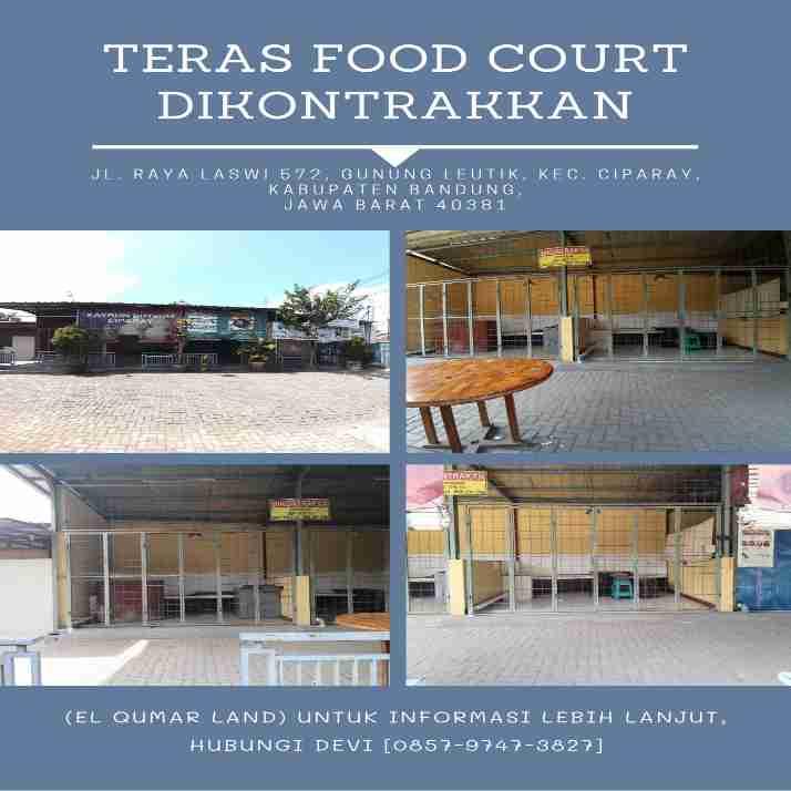Teras foodcourt